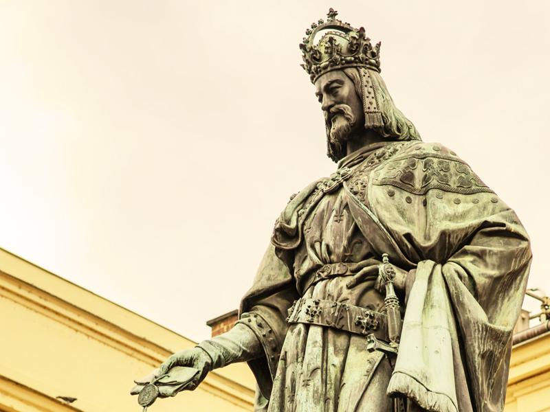Karel IV v KD Bílá Hora